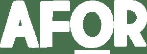 logo afor 1 white