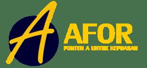 afor logo light