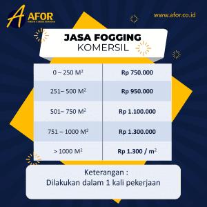 Jasa Fogging Komersil